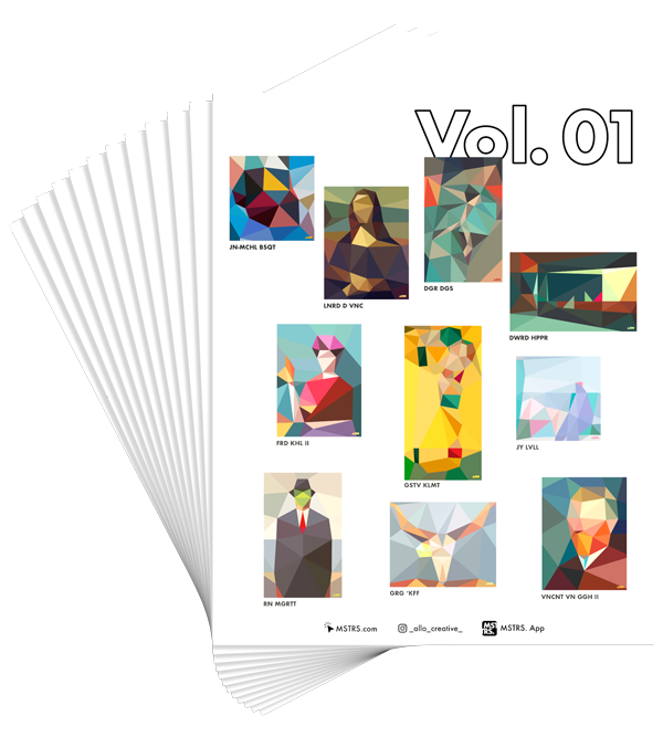 - Interactive Coloring Book Vol. 01 - MSTRS. X Allo